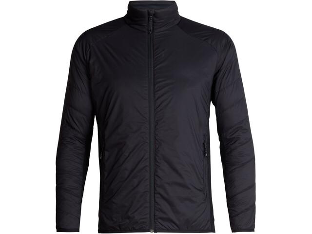 Icebreaker Hyperia Lite Hybrid Jacket Herr Black